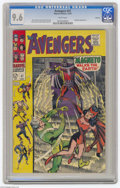 Silver Age (1956-1969):Superhero, The Avengers #47 Oakland pedigree (Marvel, 1967) CGC NM+ 9.6 White pages. Magneto appearance. Don Heck cover. John Buscema a...