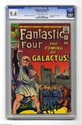 Silver Age (1956-1969):Superhero, Fantastic Four #48 (Marvel, 1966) CGC NM 9.4 Off-white to white pages. Other than the original Marvel keys in the early 1960...