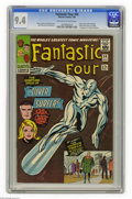 Silver Age (1956-1969):Superhero, Fantastic Four #50 (Marvel, 1966) CGC NM 9.4 Off-white to whitepages. This issue was part three of the epic that fans dubbe...
