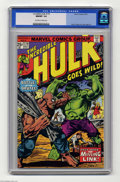 Bronze Age (1970-1979):Superhero, The Incredible Hulk #179 (Marvel, 1974) CGC NM/MT 9.8 Off-white to white pages. Herb Trimpe and Jack Abel art. This is the h...
