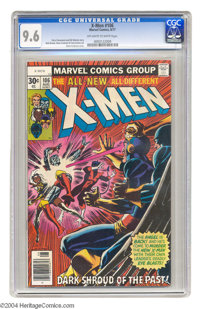 X-Men #106 (Marvel, 1977) CGC NM+ 9.6 Off-white to white pages. Dave Cockrum cover. Only three copies of this issue have...