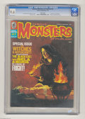 Bronze Age (1970-1979):Horror, Famous Monsters of Filmland #67 (Warren, 1970) CGC NM+ 9.6 Whitepages. Witches and witchcraft issue. Vic Prezio cover. This...