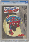 Silver Age (1956-1969):Superhero, Spectacular Spider-Man (Magazine) #1 (Marvel, 1968) CGC NM+ 9.6 Off-white pages. John Romita Sr. cover. Romita and Jim Moone...