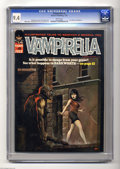 Bronze Age (1970-1979):Horror, Vampirella #6 (Warren, 1970) CGC NM 9.4 White pages. Outstanding copy of an early Vampi issue featuring a Ken Kelly cove...
