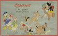 Memorabilia:Miscellaneous, Disney Store Display Lithograph (Ingersoll, 1940s). This attractive Store Display item comes from the company famous for pro...