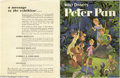 Memorabilia:Miscellaneous, Peter Pan - Set of Five Coloramas (Disney, 1952). These bright, colorful pieces, larger than lobby cards, were distributed t...