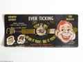 Memorabilia:Miscellaneous, Howdy Doody Ever Ticking Toy Wrist Watch (Ever Tick Corp, 1950). Golly, Buffalo Bob! This is just the coolest toy we've seen...