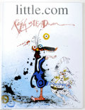 Memorabilia:Miscellaneous, Ralph Steadman - little.com Signed and Remarqued Edition (Anderson Press, 2000). Gonzo artist Ralph Steadman really put his ...