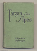Books:First Editions, Edgar Rice Burroughs - Tarzan of the Apes (A. L. Burt, 1914). Thefirst edition of Edgar Rice Burroughs' Tarzan of the Ape...