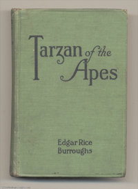 Edgar Rice Burroughs - Tarzan of the Apes (A. L. Burt, 1914). The first edition of Edgar Rice Burroughs' Tarzan of the A...