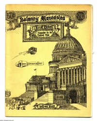Baloney Moccasins #1 (Half-Ass Press, 1970) Condition: FN/VF. Very rare Underground from George DiCaprio (yes, he's the...