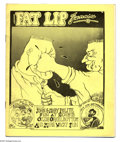 Silver Age (1956-1969):Alternative/Underground, Fat Lip Funnies #nn (Rag Studios, 1969) Condition: FN. Yellow coverversion; featuring art by Daniel Cline and Jay Lynch. Th...