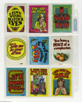 Silver Age (1956-1969):Alternative/Underground, Robert Crumb - Topps Monster Greeting Cards Set (Topps, 1965)Condition: Average FN. One of the first commercial art jobs he...