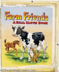 Original Comic Art:Covers, Will Bartlett - Farm Friends, A Real Cloth Book Cover Original Art(Whitman, 1955). The barnyard animals get along just fine...(Total: 2 items Item)