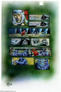 Original Comic Art:Panel Pages, Kevin Eastman and Simon Bisley - Melting Pot, page 41 Original Art(Kitchen Sink, 1994). Sade and Zarharr limp away from the...