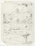 Original Comic Art:Miscellaneous, Del Connell - Walt Disney Showcase #37 Jiminy Cricket and Tinker Bell Preliminary Pages Original Art (Gold Key, 1969). Tinke...