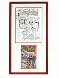 Original Comic Art:Covers, Stan Goldberg and Mike Esposito - Archie's Pal Jughead Comics #86Cover Original Art (Archie, 1996). Jughead can't quite blu...