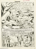 "Original Comic Art:Complete Story, Graham Ingels - Gunfighter #6 Complete 7-page Story ""I'll Go Out inSmoke an' Fire!"" Original Art (EC, 1948). An innocent by..."