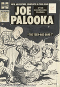 Original Comic Art:Covers, Mo Marcus (attributed) - Joe Palooka #101 Cover Original Art(Harvey, 1957). Joe Palooka breaks up a rumble, and does his be...(Total: 2 items Item)