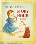 Original Comic Art:Covers, Marjorie Murray (attributed) - Tiny Tots Story Hour Book CoverOriginal Art (Whitman, circa 1945). A heartwarming painting i...