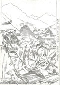 Original Comic Art:Covers, Don Rosa - Walt Disney's Donald Duck Adventures #29 Pencilled CoverOriginal Art (Disney Comics, 1992). Heir-apparent to the...