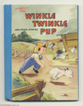 Original Comic Art:Covers, Sari - The Winkle Twinkle Pup and Other Stories Children's BookCover Original Art (McLoughlin Brothers, 1941). The newborn ...