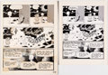 Original Comic Art:Panel Pages, Wally Wood Lunar Tunes Story Page 24 Original Art (1981)....