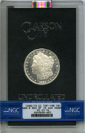 1880/79-CC $1 Reverse of 1878, VAM-4, GSA, MS63 Prooflike NGC. A Top 100 Variety. NGC Census: (19/15). PCGS Population:...