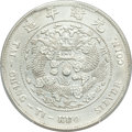 China:Empire, China: Kuang-hsü Dollar ND (1908) AU Details (Harshly Cleaned) PCGS,...
