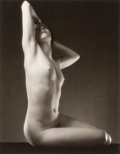Photographs:Gelatin Silver, Edward Steichen (American, 1879-1973). Miss Sousa, 1933. Gelatin silver printed by George Tice, 1984. 13-1/4 x 10-1/4 in...