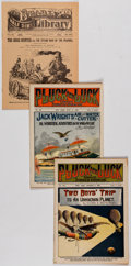 Platinum Age (1897-1937):Miscellaneous, Dime Novel Group of 33 (Various Publishers, early 1900s).... (Total: 33 Items)