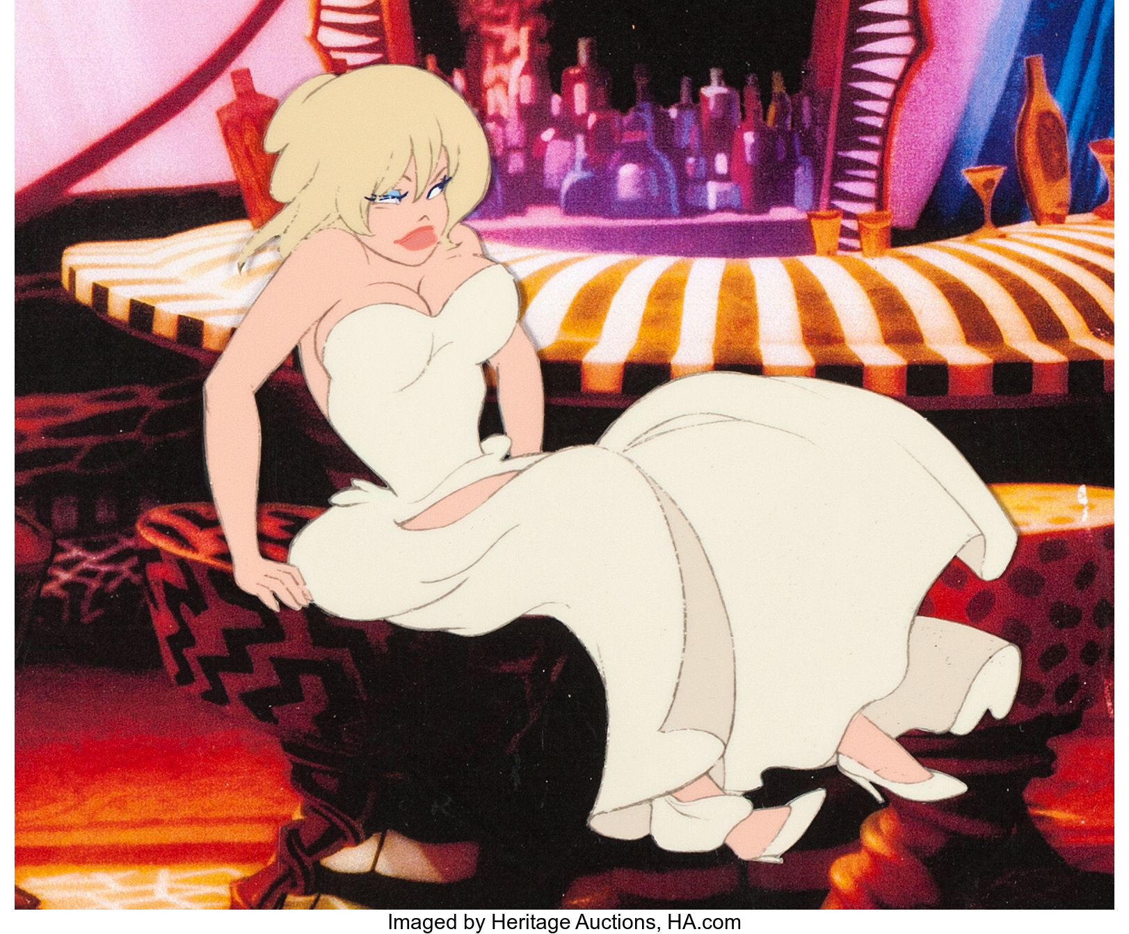 Cool World Holli Would Production Cel Paramount 1992 Lot 63448 Heritage Auctions