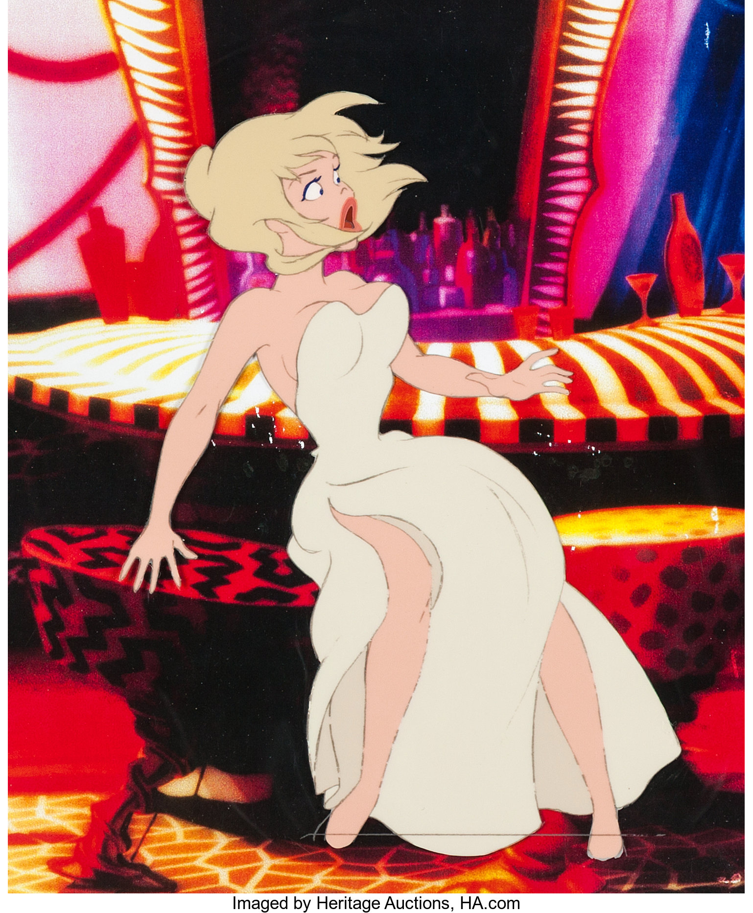 Cool World Holli Would Production Cel Paramount 1992 Lot 63449 Heritage Auctions
