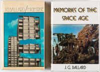 J. G. Ballard High Rise and Memories of the Space Age Hardcover First Editions Group of 2 (Johnathan C... (Total: 2 Item...