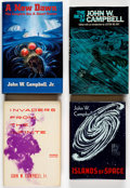 Books:First Editions, John W. Campbell, Jr. Hardcover First Editions Group of 4 (Various Publishers, 1956-2003).... (Total: 4 Items)