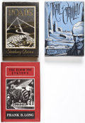 Books:Hardcover, Arkham Editions Group of 3 (Arkham House, 1948-72).... (Total: 3 Items)