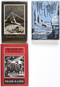 Arkham Editions Group of 3 (Arkham House, 1948-72).... (Total: 3 Items)