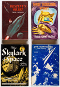 Books:Hardcover, Assorted Vintage Science Fiction Hardcovers Group of 7 (Va...