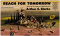 Books:Vintage Paperbacks, Arthur C. Clarke Reach for Tomorrow Vintage Paperback First Edition (Ballantine Books, 1956)....