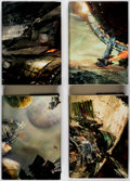 Books:Fine Press and Limited Editions, Daniel Abraham and Ty Frank The Expanse Signed Limited Editions Group of 4 (Subterranean Press, 2012-18).... (Total: 4 Items)