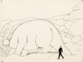 Animation Art:Production Drawing, Winsor McCay Gertie the Dinosaur