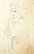 Animation Art:Production Drawing, Snow White and the Seven Dwarfs Anim...