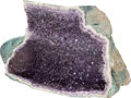 Minerals:Decorative, A Large Amethyst Geode. Rio Grande Do Sul. Brazil. 36 x 24 x 12 inches (91.4 x 61.0 x 30.5 cm). ...