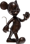 Animation Art:Maquette, Mickey Mouse Limited Edition Bronze Statue by Blaine Gibson (Walt Disney, c. 1970-80s)....