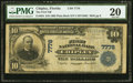 National Bank Notes:Florida, Chipley, FL - $10 1902 Plain Back Fr. 624 The First National Bank Ch. # 7778 PMG Very Fine 20.. ...