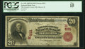 National Bank Notes:Illinois, Morris, IL - $20 1902 Red Seal Fr. 639 The Grundy County National Bank Ch. # (M)531 PCGS Fine 15.. ...