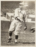 Baseball Collectibles:Photos, Circa 1910s Bobby Wallace original Photograph by Paul Thompson Used for his 1973-79 TCMA All-Time Greats Card, PSA/DNA Type I....