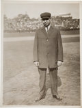 Baseball Collectibles:Photos, Circa 1914 Bill Klem Original Photograph by Paul Thompson from the Photo File Archive Collection, PSA/DNA Type 1....
