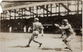 Baseball Collectibles:Photos, 1914 Larry Doyle Original Photograph by George Grantham Bain, PSA/DNA Type 1. ...
