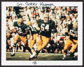 Football Collectibles:Photos, 1967 Jerry Kramer Super Bowl I Original Color Photograph.